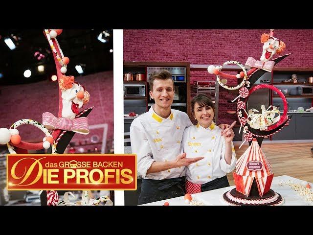 3 Meter hohe Torte! XXL-Zirkus-Kuchen   (2/2)   Das große Backen – Die Profis   SAT.1