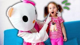 Откуда В Гостях У Дианы Необычная  Хелло Китти  Hello Kitty Visiting Diana