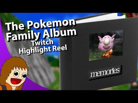 Tom's Stream Highlights: The Pokemon Family Album (September 2, 2018 - September 15, 2018)