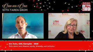 Eric Dube, Retrophin – 2020 PharmaVOICE 100 Celebration