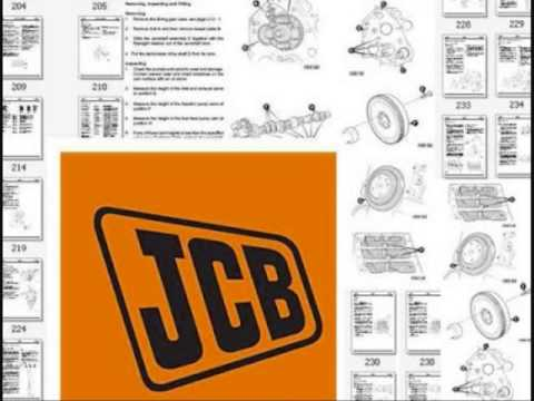 JCB SERVICE REPAIR MANUAL