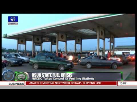 News Across Nigeria: NSCDC Take Control Of Fuelling Stations In Osun State