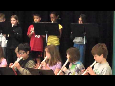 Far Brook School 2009 (3rd and 4th graders) rehearsal