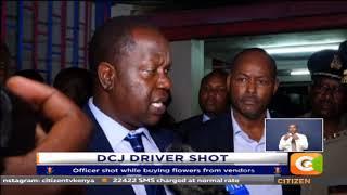 Deputy CJ Mwilu's driver shot on Ngong road