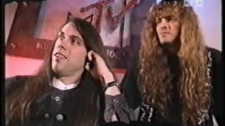 Interview with Tyketto part 2 MTV Europe 1994  with Vanessa Warwick