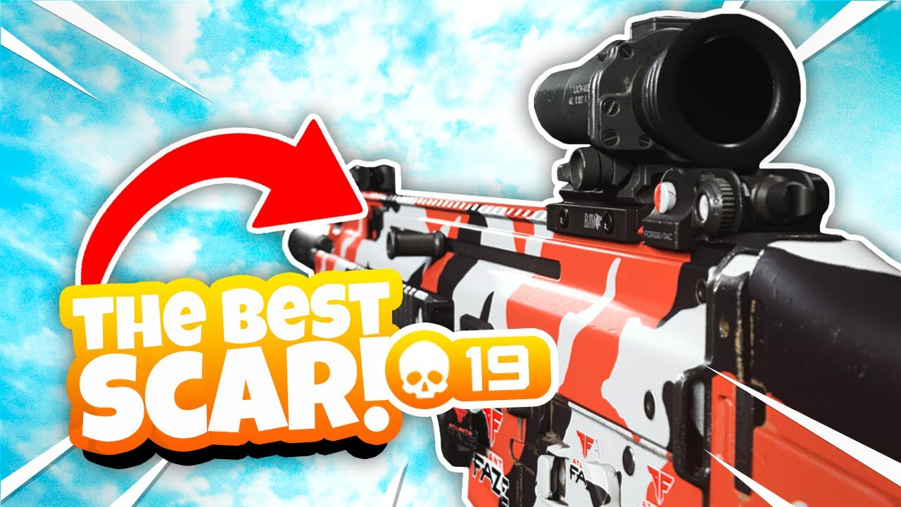 The BEST FN SCAR 17 Class Setup in CoD Warzone! *TRY THIS*