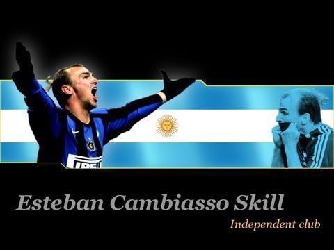 Esteban Cambiasso Skill !!!