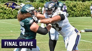 Heat and Intensity Turn Up in Philly | Ravens Final Drive