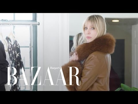 Trying on All My Winter Clothes  Try On My Closet  Harpers BAZAAR