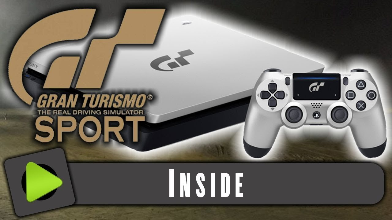 Splinternye Playstation 4 Gran Turismo Sport Edition 🎮 - YouTube SO-35