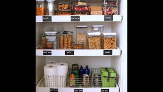 Kid-Friendly Pantry Organizing - Martha Stewart