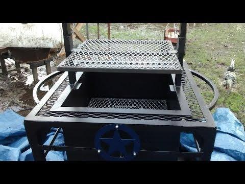 Santa maria grill build