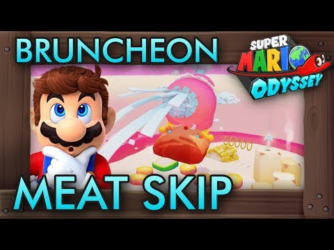 Super Mario Odyssey's Most Infamous Glitch - The Meat Skip
