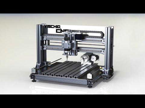 VISCHIO CNC - Homemade CNC milling machine