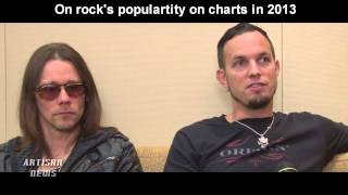 ALTER BRIDGE FORTRESS DEBUTS AT NUMBER 12 ON BILLBOARD 200, DISCUSSES ROCK IN A MAINSTREAM POP WORLD