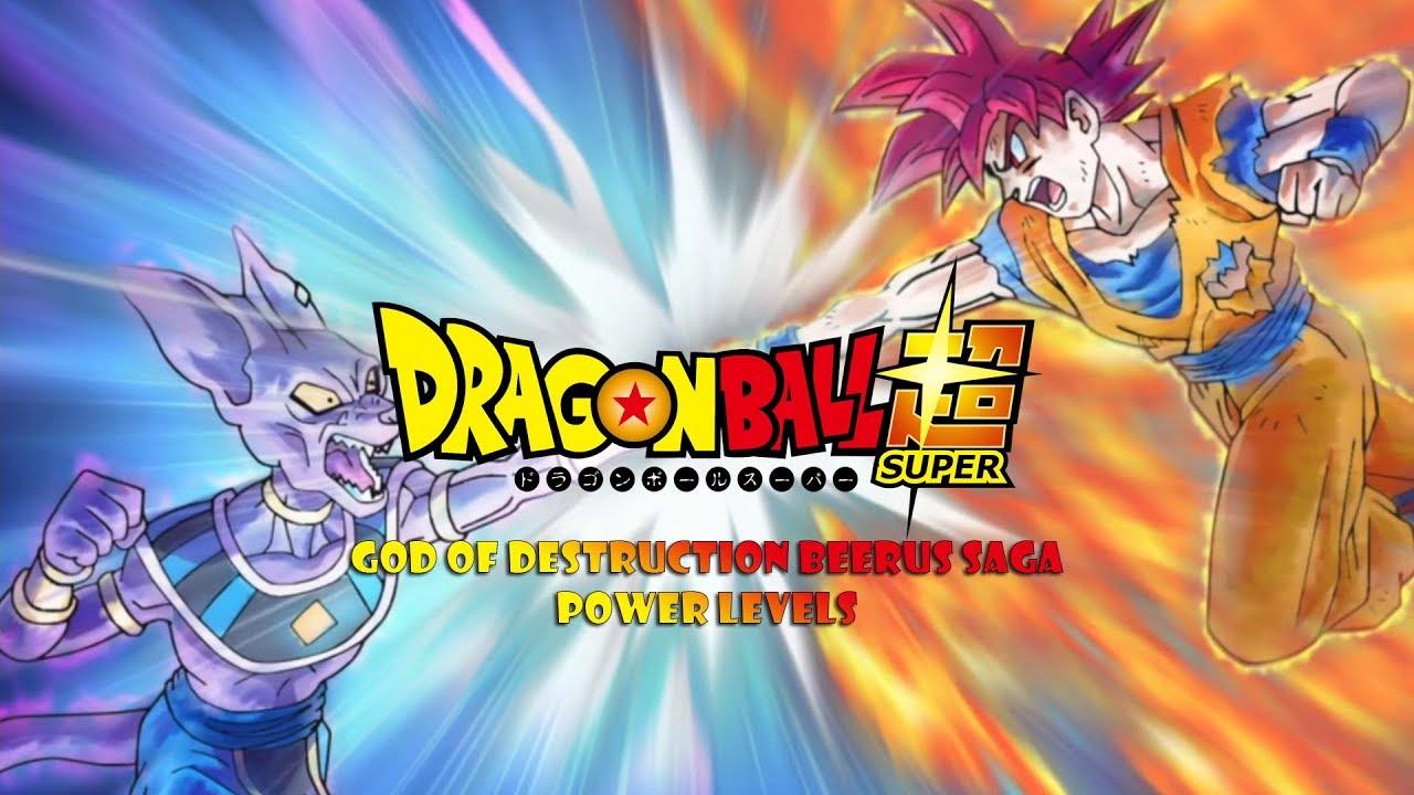 Dragon ball Z Super battle Power Level 456