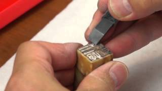 Designing and Carving a Japanese Name Seal (Inkan) for Robert Mimura
