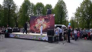 БАС ТВ Праздник в г. Полесске посвященный Дню Победы 9 мая 2015 г.