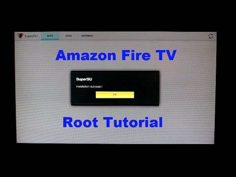 How to Root your Amazon Fire TV