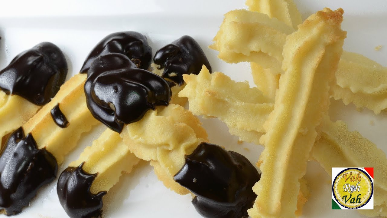 Italian chocolate dipped cookie recipe