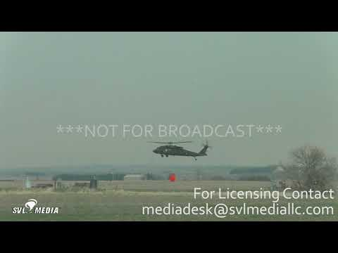 Catherine Ks Wind Driven Grass Fire and Blackhawk helicopters 3618