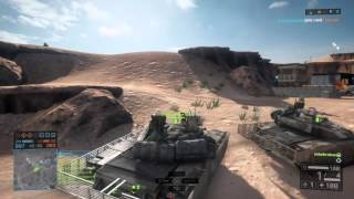 PS4 BF4 - TOA boys in Tanks on Silk Rd