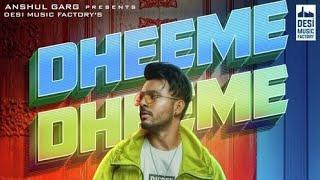 Dheeme Dheeme   Tony Kakkar new official song 2019   [4k] video