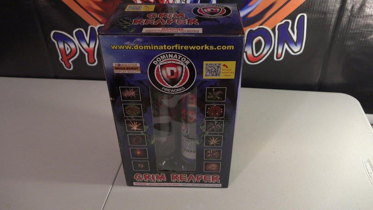 "GRIM REAPER 1.75"" CANISTER SHELLS - DOMINATOR FIREWORKS ..."