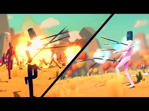 TABS - Fire and Ice Arrows - New Archers! - Totally Accurate Battle Simulator Multiplayer