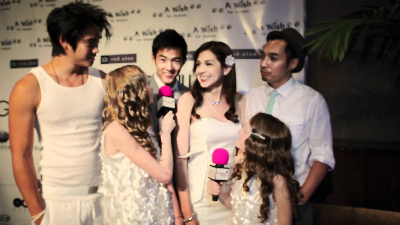One Warm Night Cast Interview at A Wish For Animals White Party Event sponsored by GENLUX Magazine