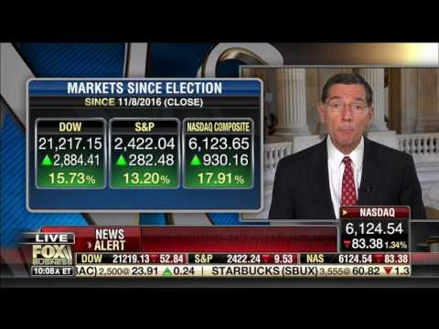 Chair Sen. John Barrasso (R-WY) Talks Importance of Infrastructure on  Varney & Co. on Fox Business