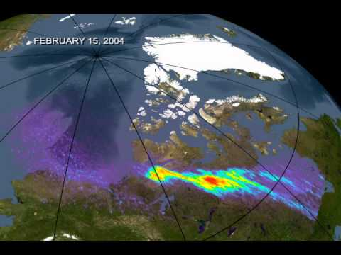 Earth Aurora Images, Chandra sequence