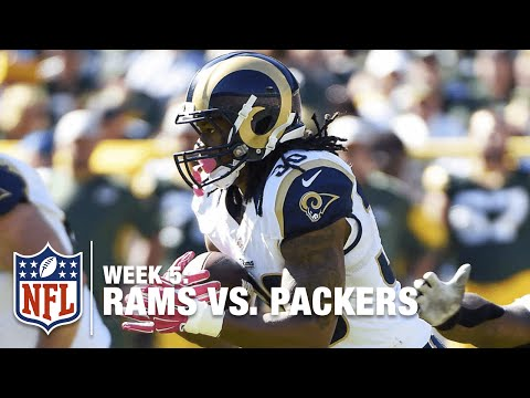 Todd Gurley Breaks Off a 55-Yard Run | Rams vs. Packers | NFL