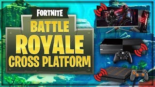 FORTNITE for ANDROID CROSS PLAY ? FORTNITE PASSER OF MODA ? - Cross platform