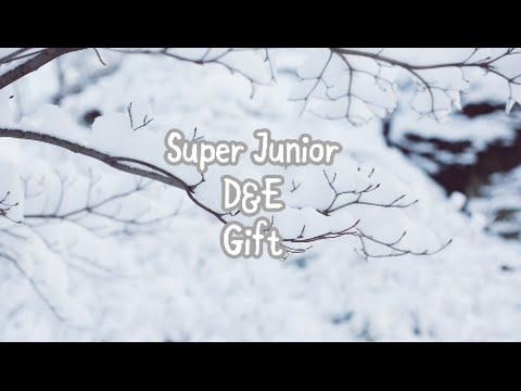 [KAN/ROM/ENG] SUPER JUNIOR-D&E   Gift Lyrics