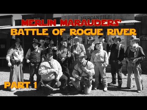 Part 1 - Battle of Rogue River - Cowboy Action Shooting Match Review