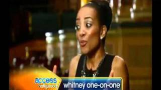 Whitney Houston on Access Hollywood Interview 12 dec 2011