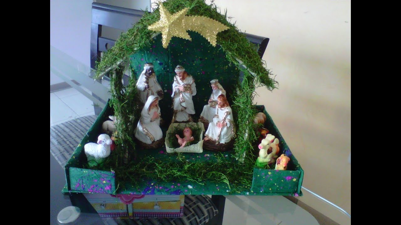 Haz tu propio nacimiento navide o youtube - Nacimiento para navidad ...