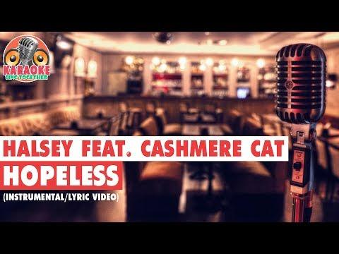 Halsey - Hopeless (ft. Cashmere Cat) (Instrumental/Lyric Video)