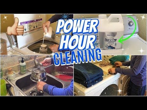 POWER HOUR CLEANING | SPEED CLEANING MY HOUSE | CLEANING MOTIVATION | OderKlenz REVIEW