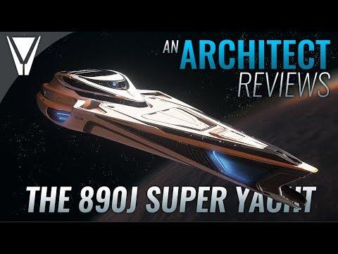 An Architect Reviews The 890J Super Yacht - Star Citizen