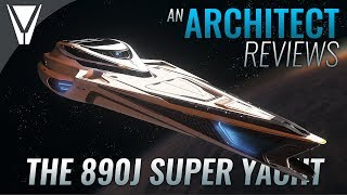 An Architect Reviews the 890J Super Yacht - Star Citizen