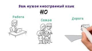 Простая регистрация на сайте иностранных языков. Онлайн обучение - это круто!