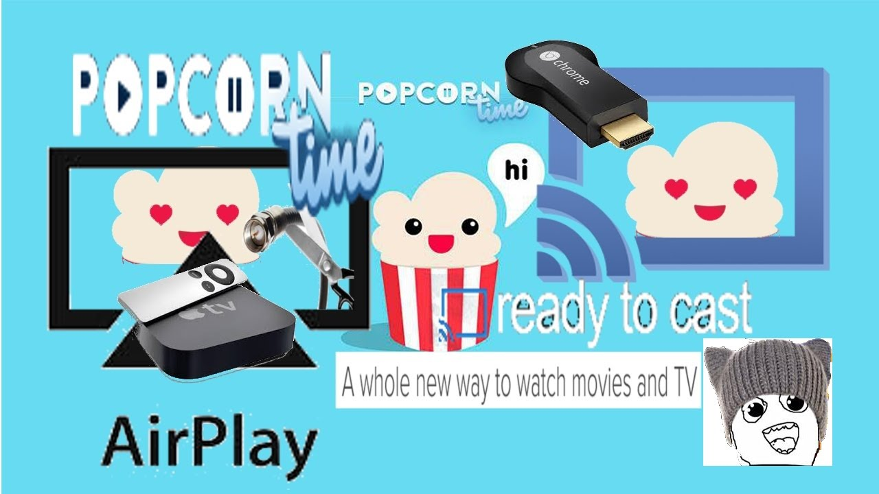 How to Fix Popcorn Time Not Showing Chromecast, Apple TV and other AirPlay