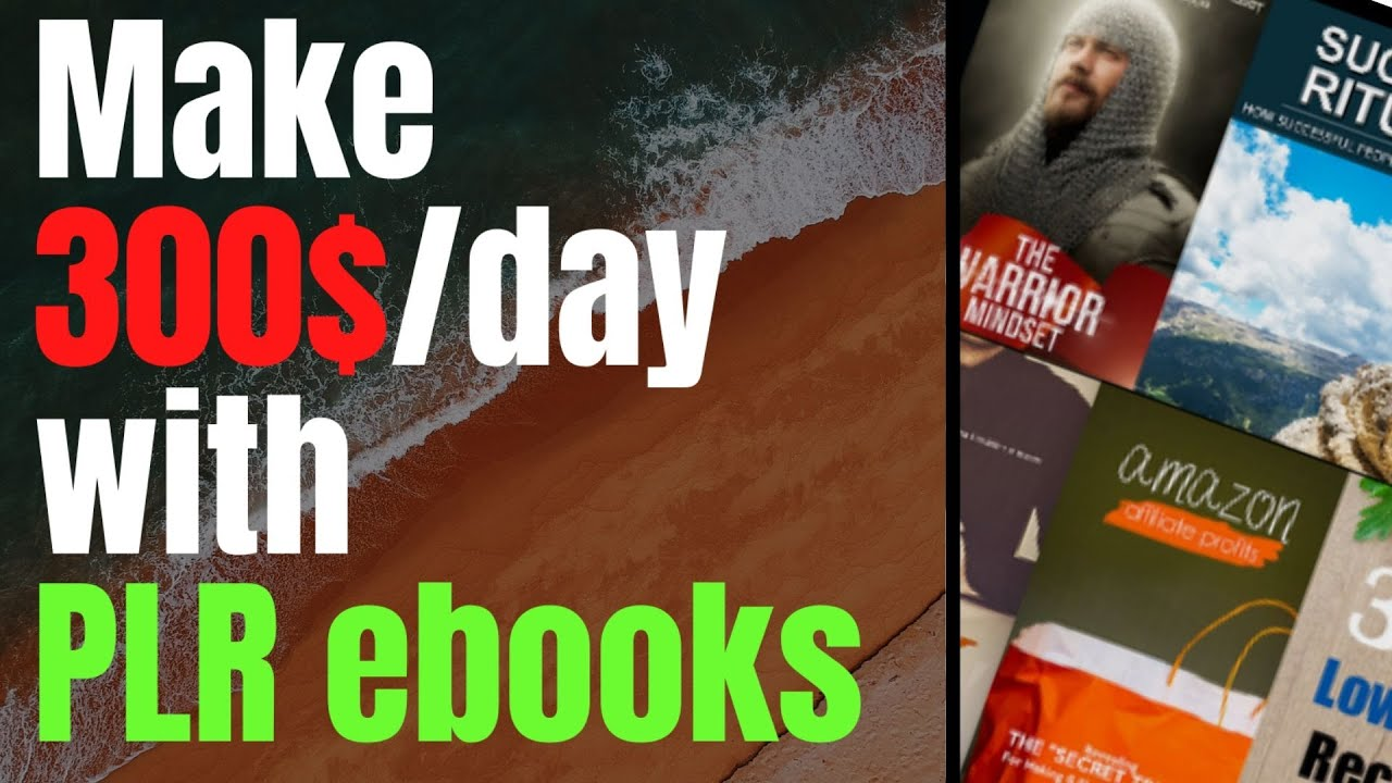 Here's How I Make $300/DAY with PLR EBOOKS - PLR eBook Provider.
