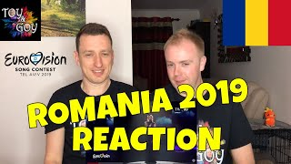 Romania Eurovision 2019 Reaction - Review - Ester Peony - On a Sunday - #12