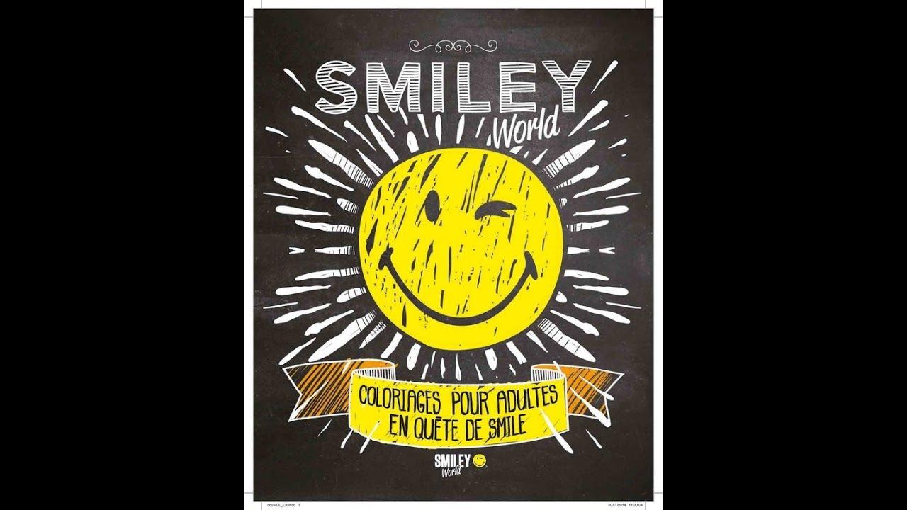 Coloriage Pour adultes Smiley World