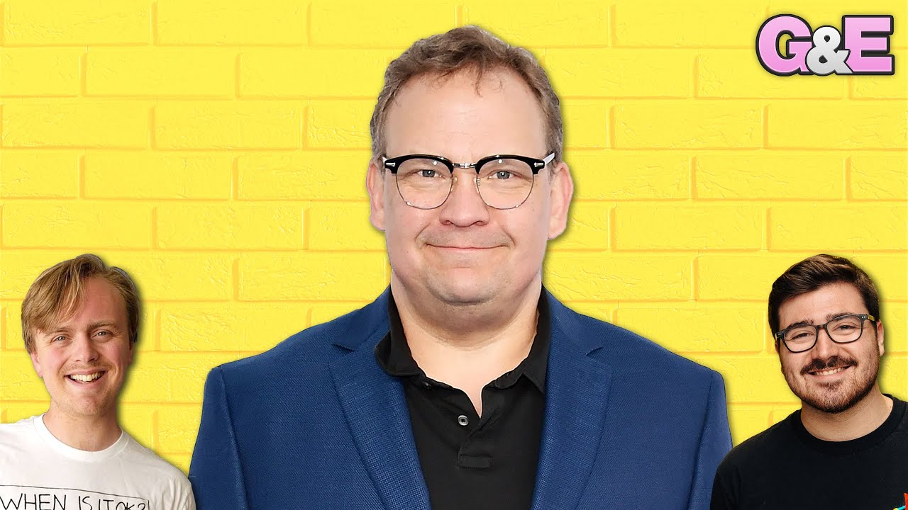 Andy Richter is on the Podcast! - The Gus & Eddy Podcast