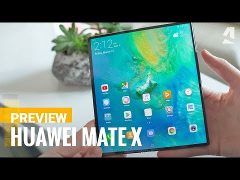 Huawei Mate X Preview - The future of phones?