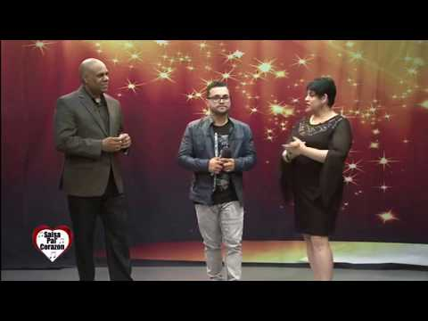 Anthony Torres entrevista en Salsa Pal' Corazon en Mega TV Houston Canal 55